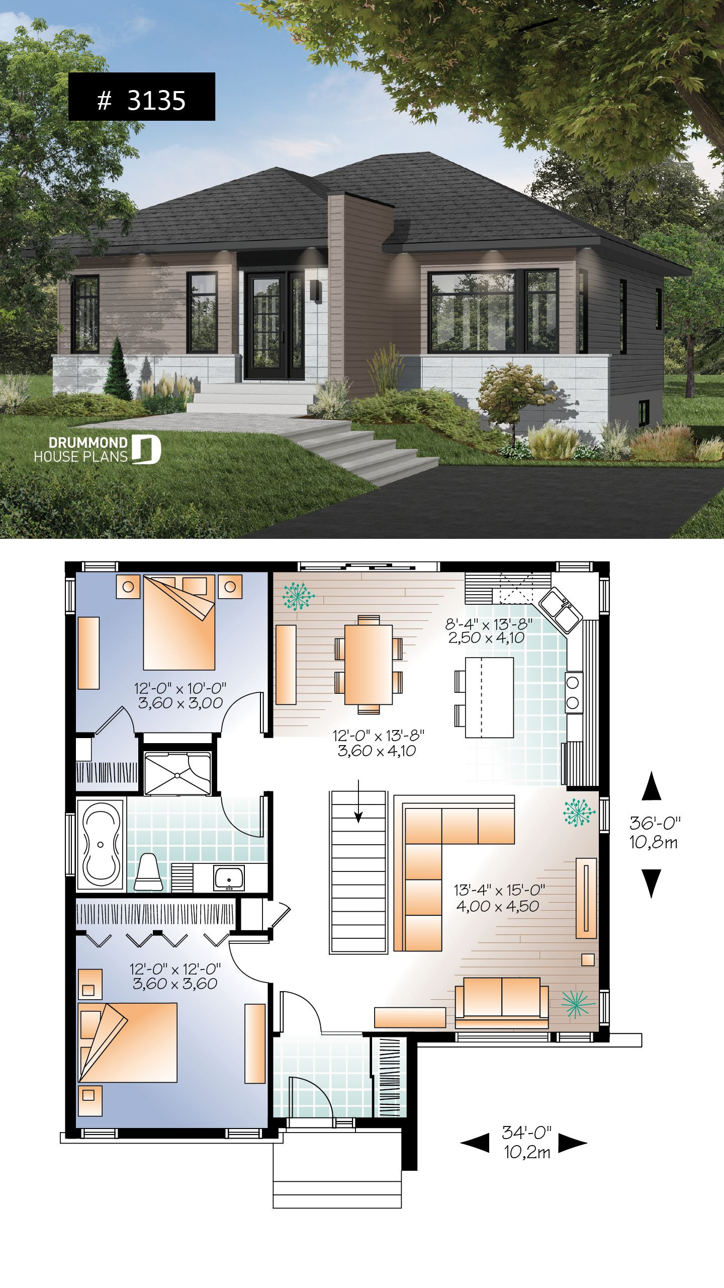 Open Concept Floor Plans for Small Homes Best Of House Plan Camelia No 3135