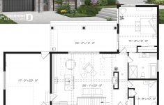Open Concept House Plans Lovely House Plan Olympe 3 No 3992 V2