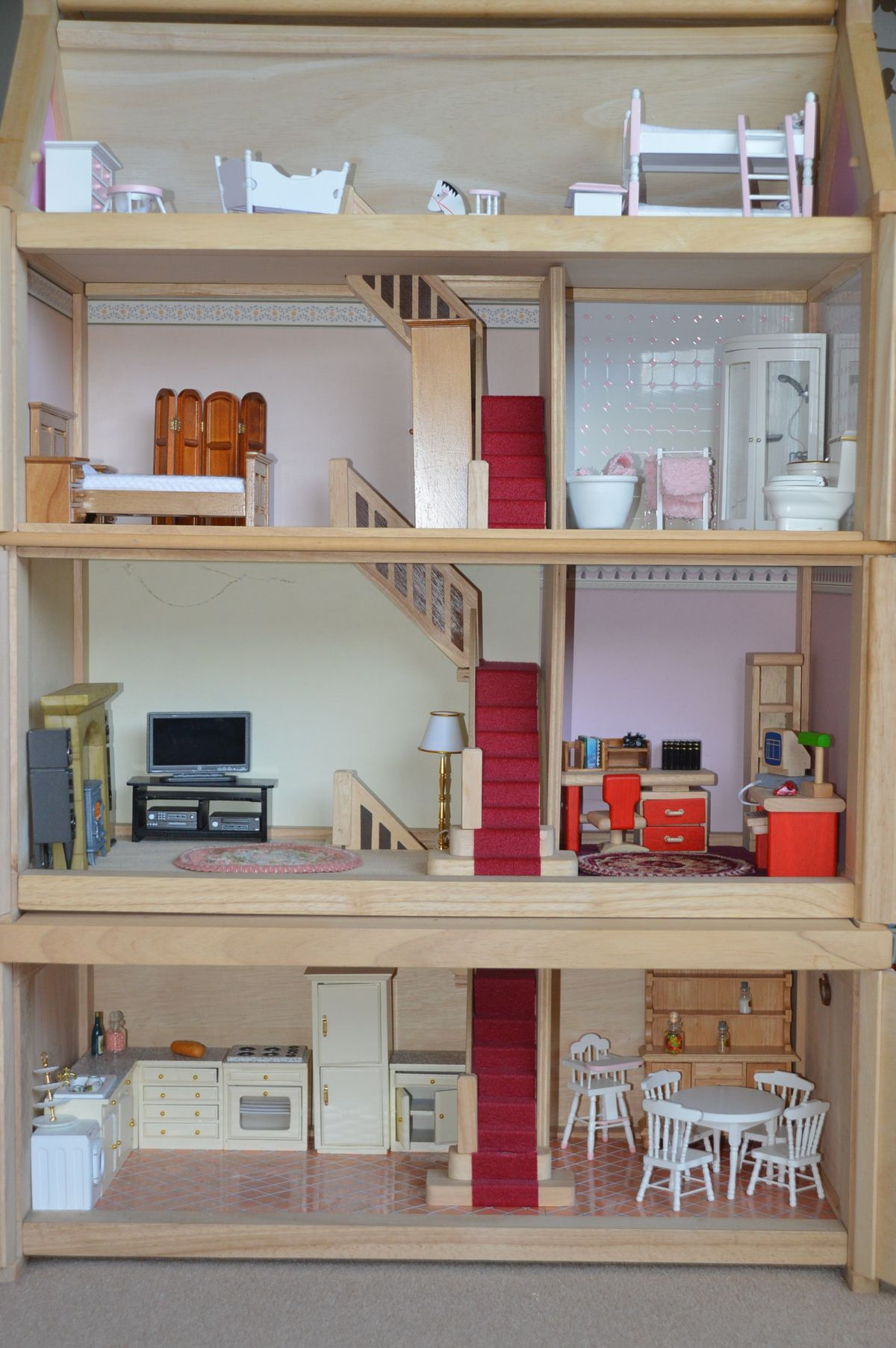 Plan toys Doll House Awesome Plan toys Victorian Dolls House In Wyre for £99 00 for