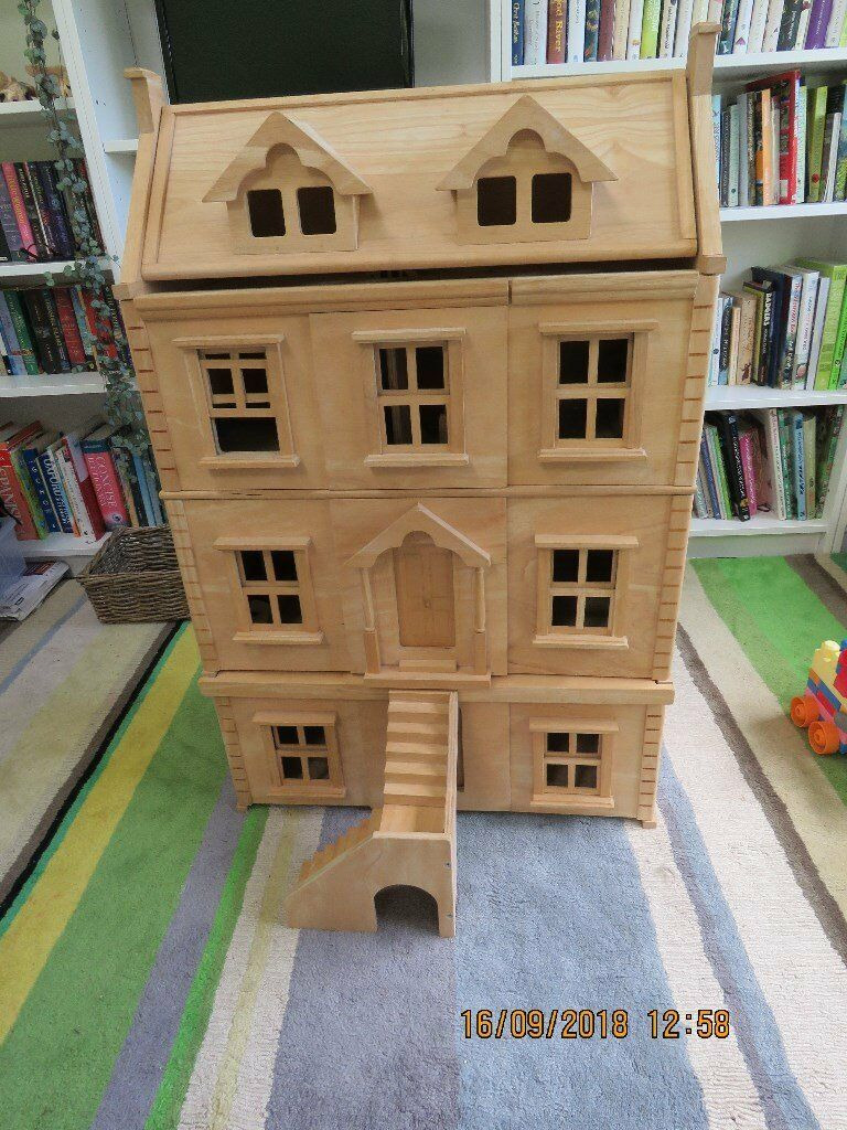 Plan toys Doll House Fresh Plan toys Victorian Dolls House with Basement and Furniture In Letchworth Garden City Hertfordshire