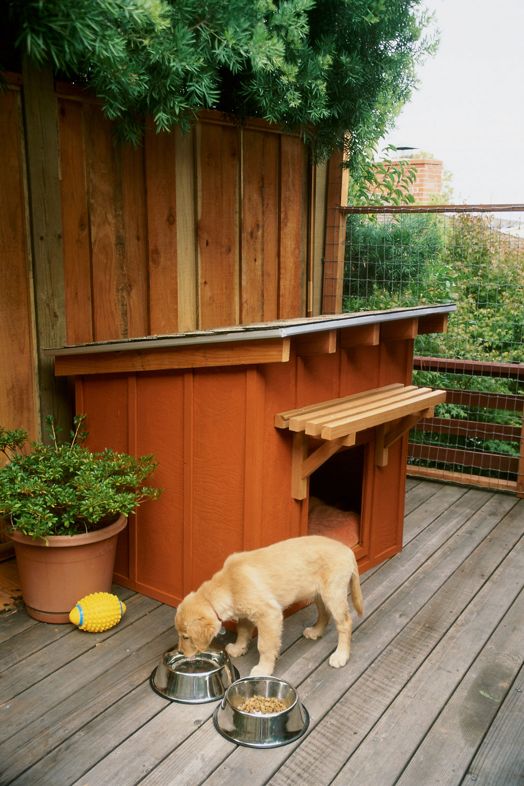 Plans for Dog House Awesome How to Build A Dog House Sunset Magazine