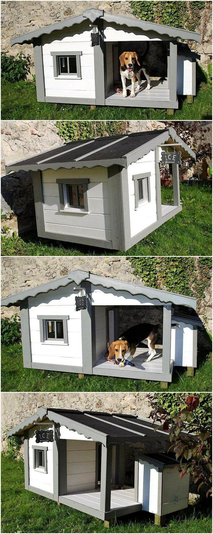 Plans for Dog House Luxury 80 Super Diy Ideas for Wood Pallet Dog Houses