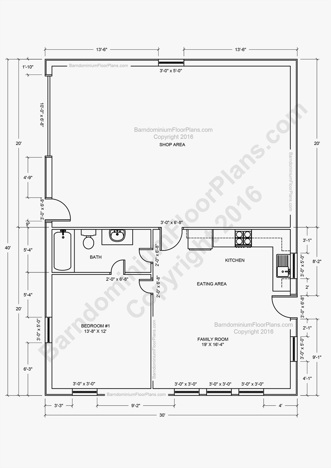 shop houses floor plans new barndominium floor plans pole barn house plans and metal barn homes of shop houses floor plans 1