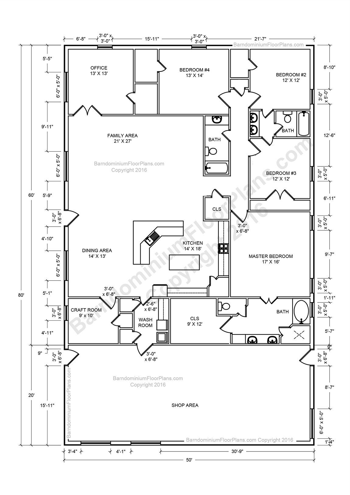 Pole Barn House Plans with Loft Inspirational these are 30 Incredible Barndominium Floor Plans You Have to
