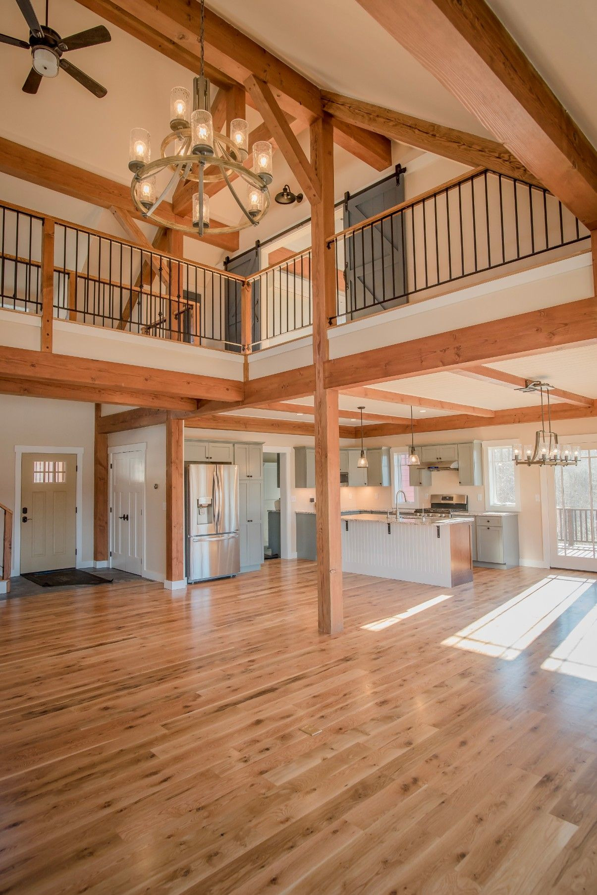 Post and Beam House Plans Luxury the Overlook is A Post and Beam Open Concept Barn Style