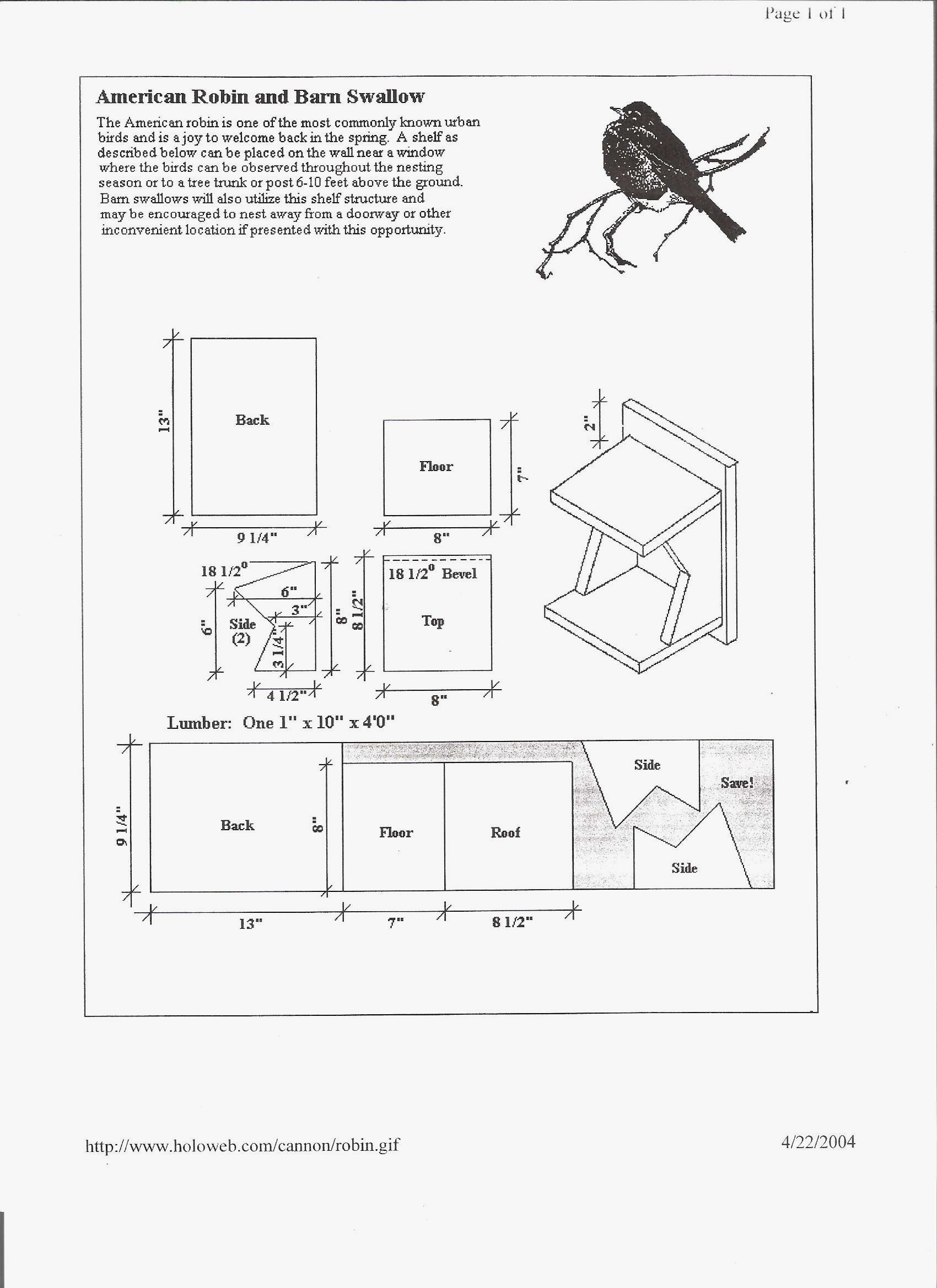 purple finch bird house plans new 38 free birdhouse plans