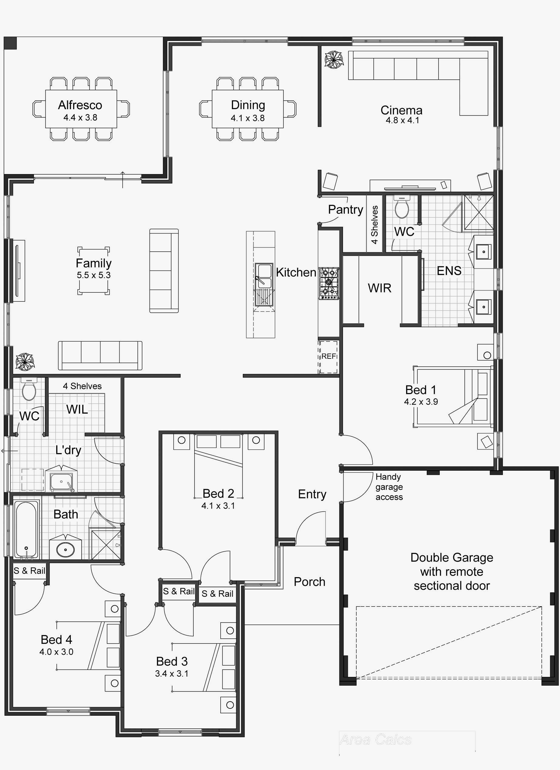 Simple Open Floor Plans Awesome 58 Inspirational Most Efficient Floor Plans Stock