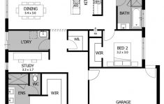 Small 4 Bedroom House Plans Beautiful Floor Plan Friday 3 Bedroom For The Small Family Or Down Sizer