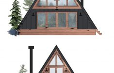 Small A Frame House Plans Elegant Ayfraym Is An Affordable A Frame Cabin In A Box Concept