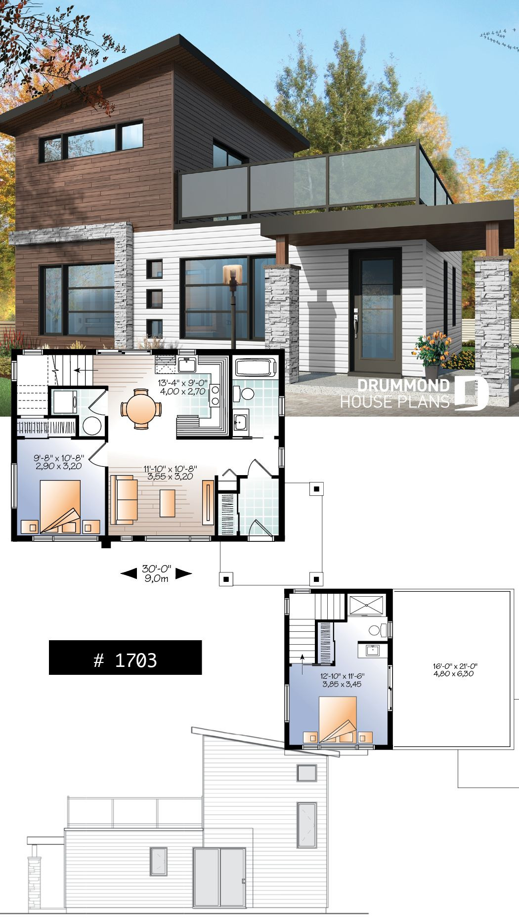 Small Contemporary House Plans Best Of House Plan Joshua No 1703