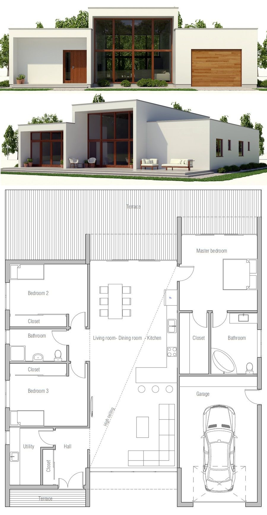 Small Contemporary House Plans Inspirational Minimalist House Plan