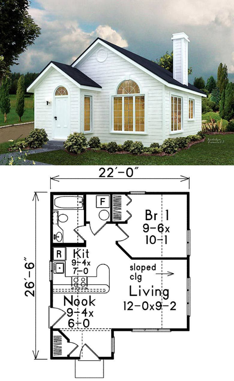 Small Home Floor Plans New 27 Adorable Free Tiny House Floor Plans