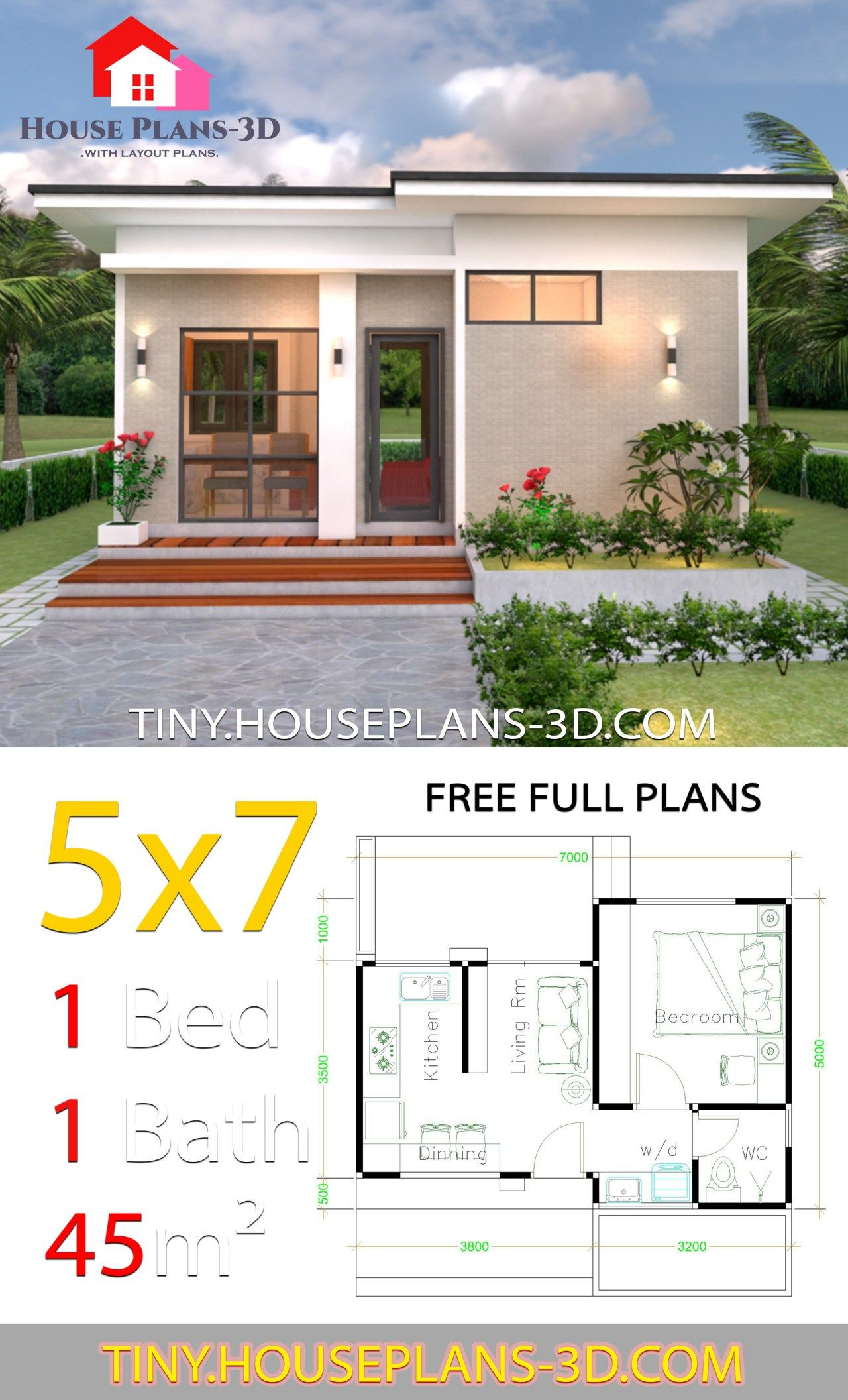 Small House Design Plans Unique Small House Design Plans 5x7 with E Bedroom Shed Roof