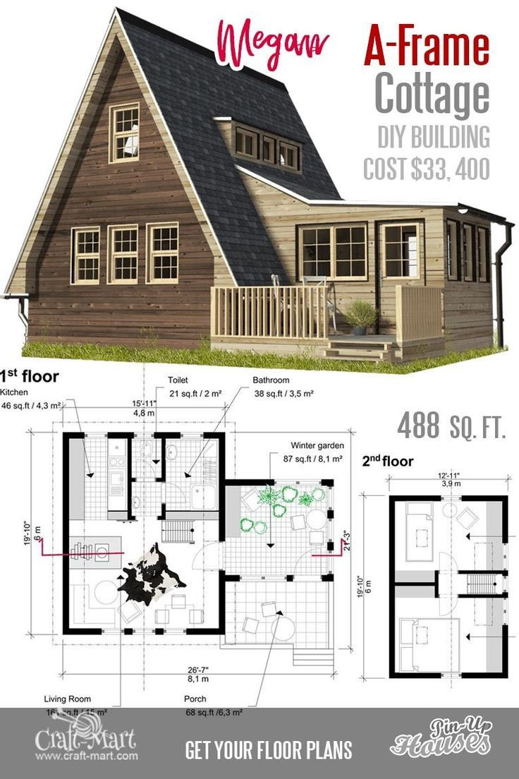Small House Floor Plans Luxury What A Nice A Frame Small House Floor Plan It Can Be A