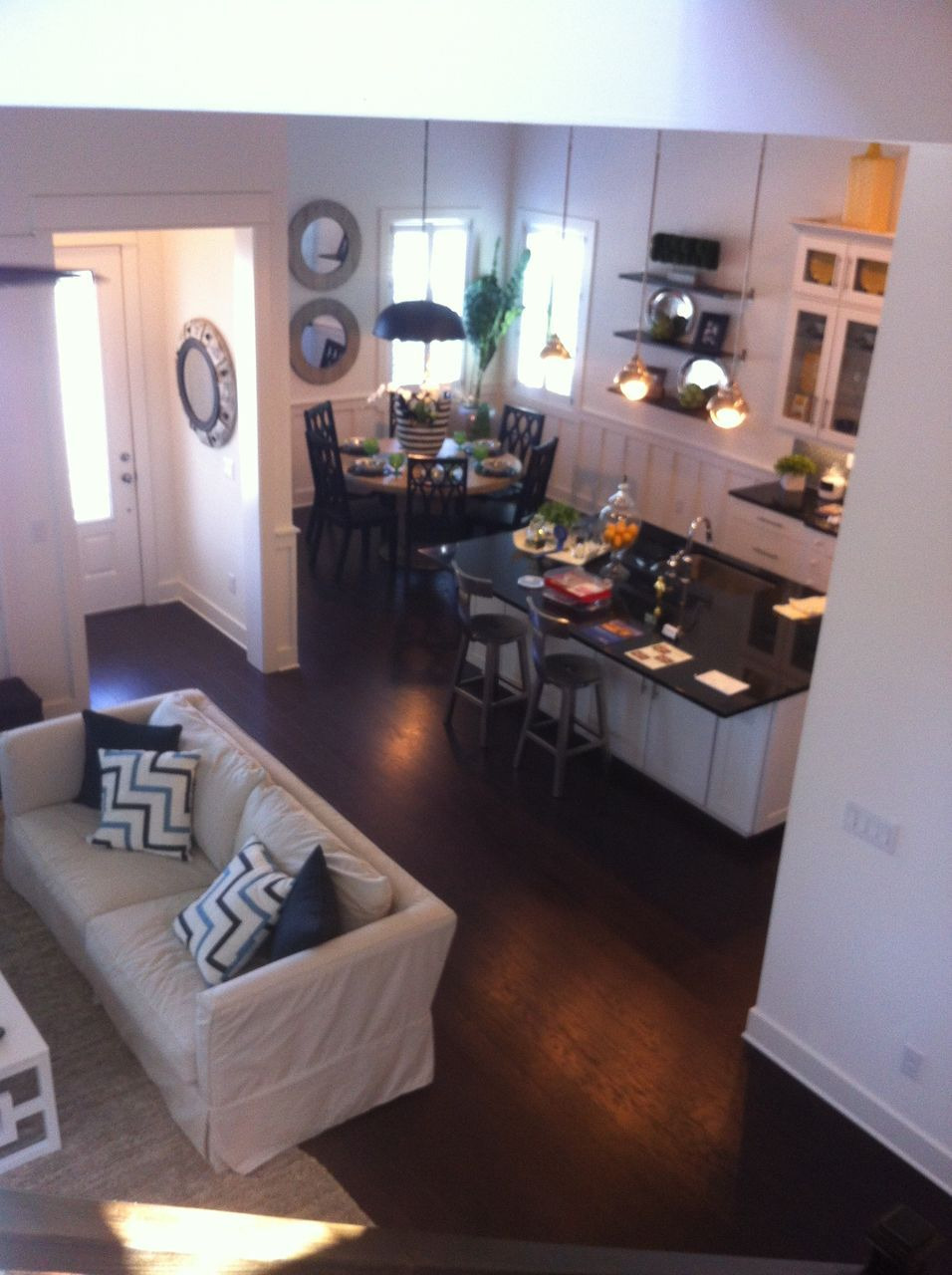 Small House Open Floor Plan Awesome This is A Good Example Of How A Small Looking Home Can Still