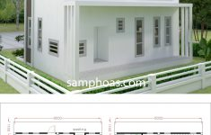 Small House Plans Free Beautiful Small Home Design Plan 8x5m With 2 Bedrooms House Plans