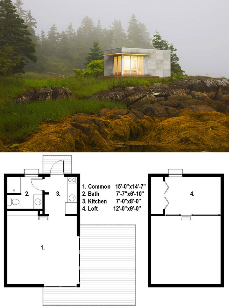 23 modern aesthetic tiny hous plan