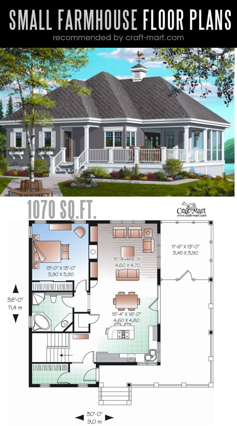 Small Modern Farmhouse Plans Unique Small Farmhouse Plans for Building A Home Of Your Dreams