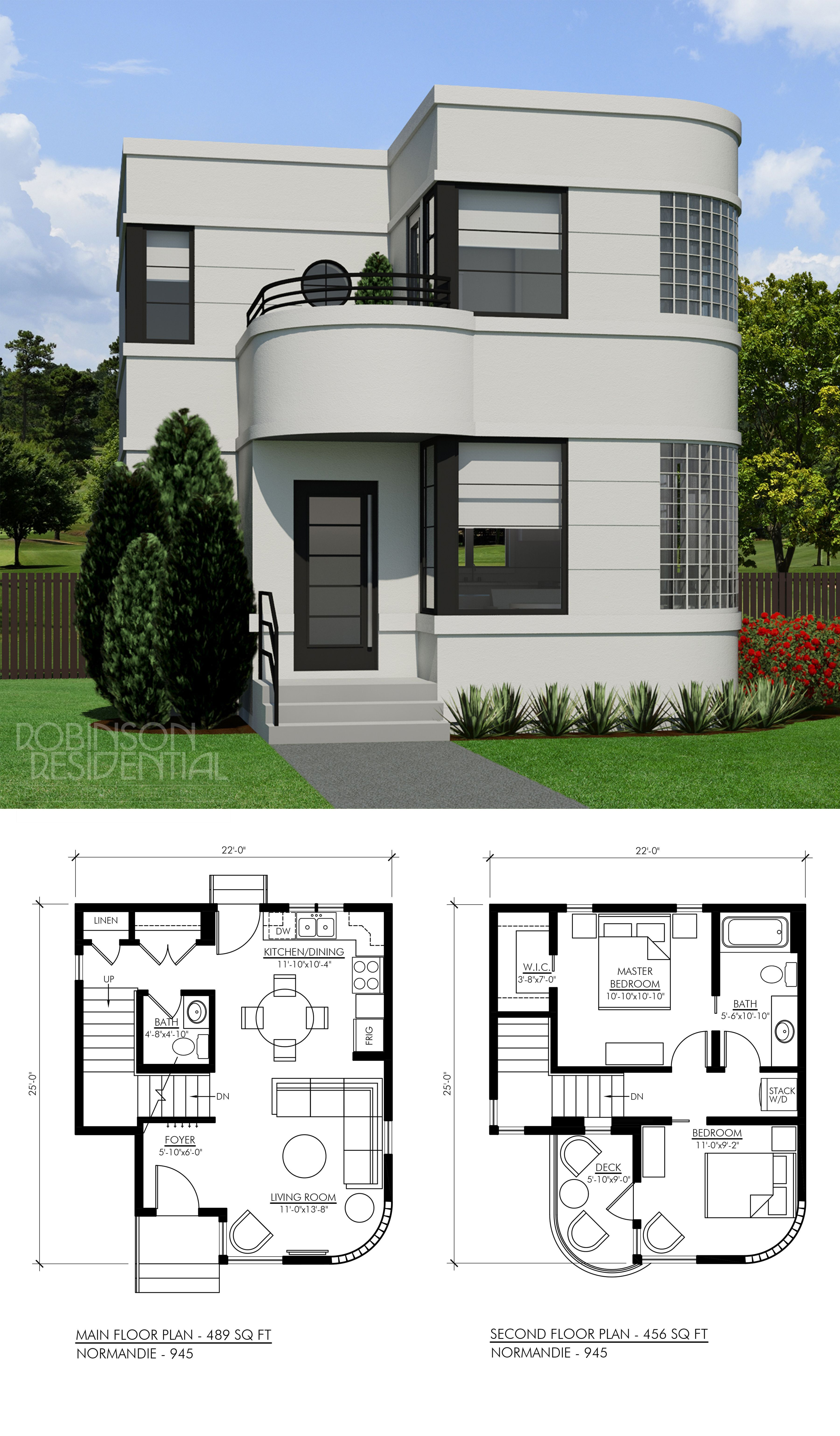 Small Modern Home Plans Beautiful Contemporary norman 945 In 2019