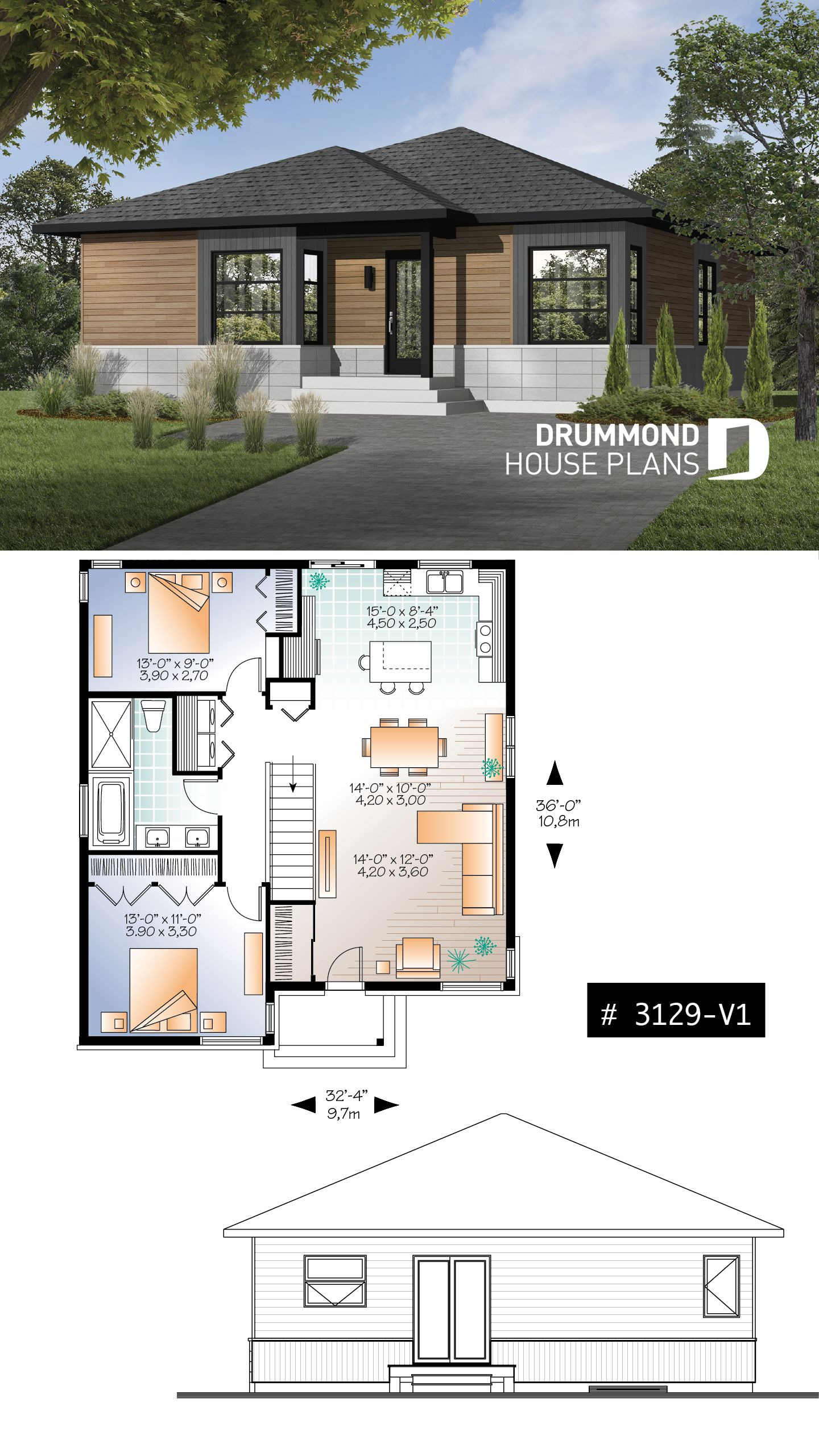 Small Rustic House Plans Lovely Not A Cabin but Almost Small Modern Rustic Plan Of 2