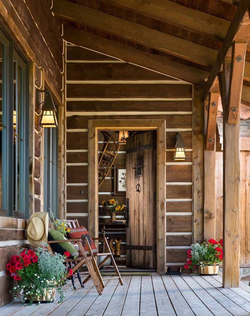 Rustic Timber Frame Cabin MTN Design 02 1 Kindesign