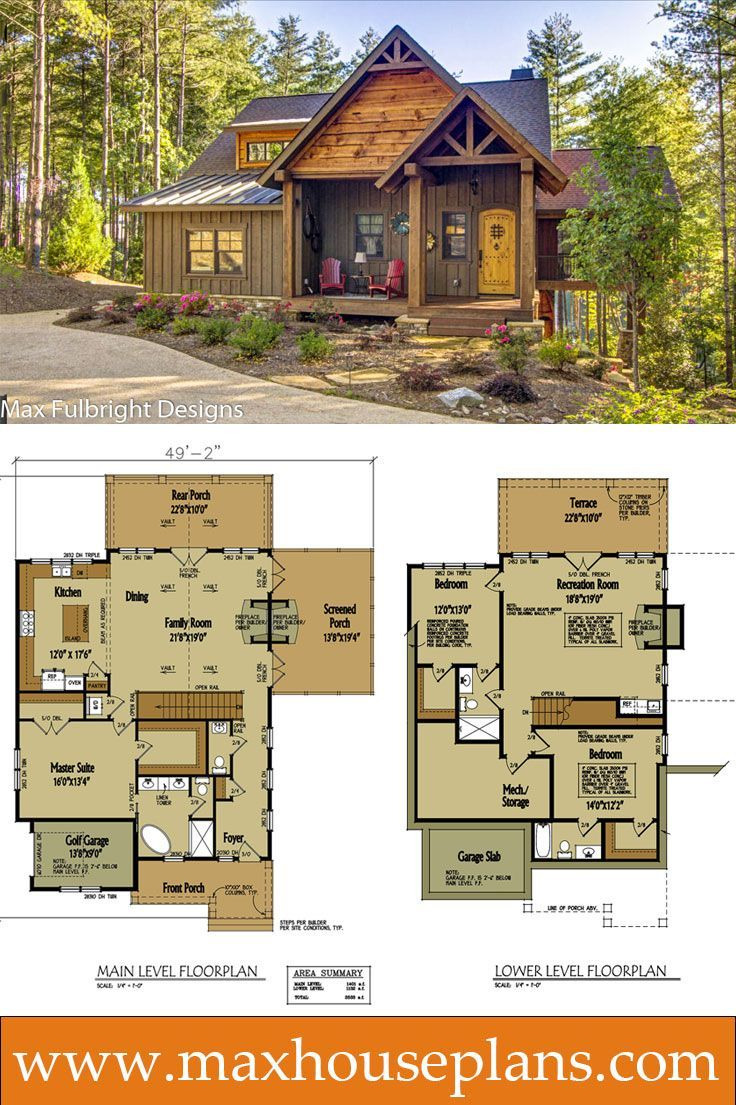 Small Vacation Home Plans Awesome Small Cabin Home Plan with Open Living Floor Plan
