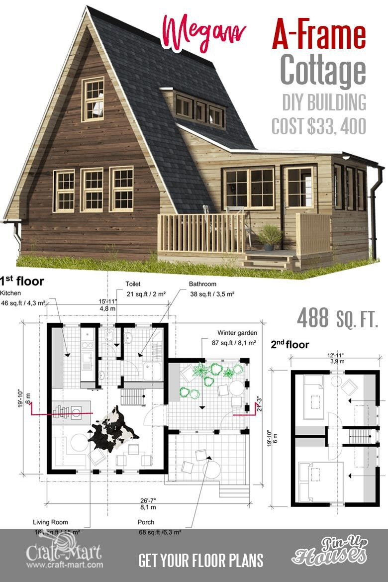 Small Vacation Home Plans Fresh Cute Small Cabin Plans A Frame Tiny House Plans Cottages