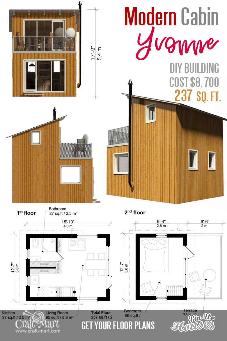 Small Vacation Home Plans New Cute Small Cabin Plans A Frame Tiny House Plans Cottages