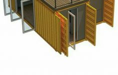 Storage Building House Plans Lovely 3 Containers 2 Levels