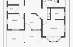 Three Bedroom House Plan Awesome 3 Bedroom House Plans In Kerala Single Floor Beautiful Flat
