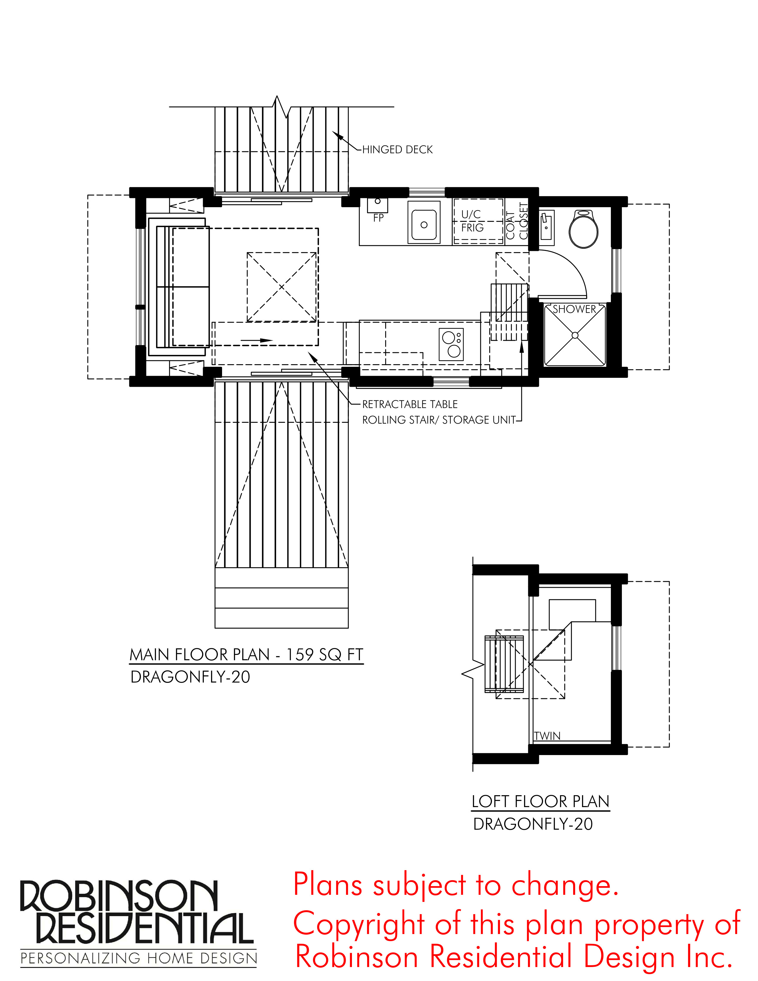 Tiny House Building Plans Luxury Contemporary Dragonfly 20