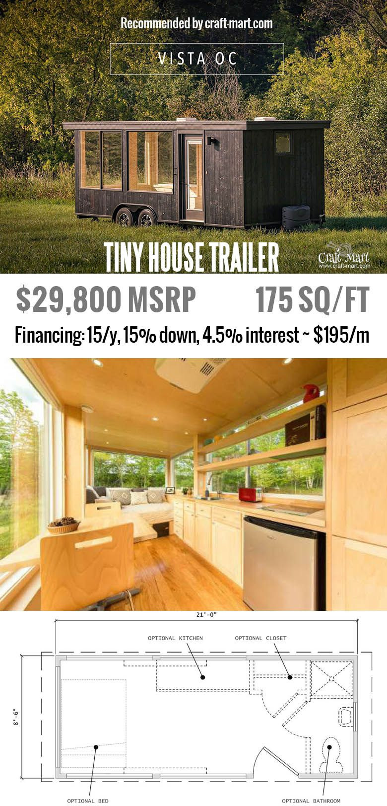 Tiny House Plans for Sale Unique 10 Gorgeous Tiny House Trailers for Digital Nomads