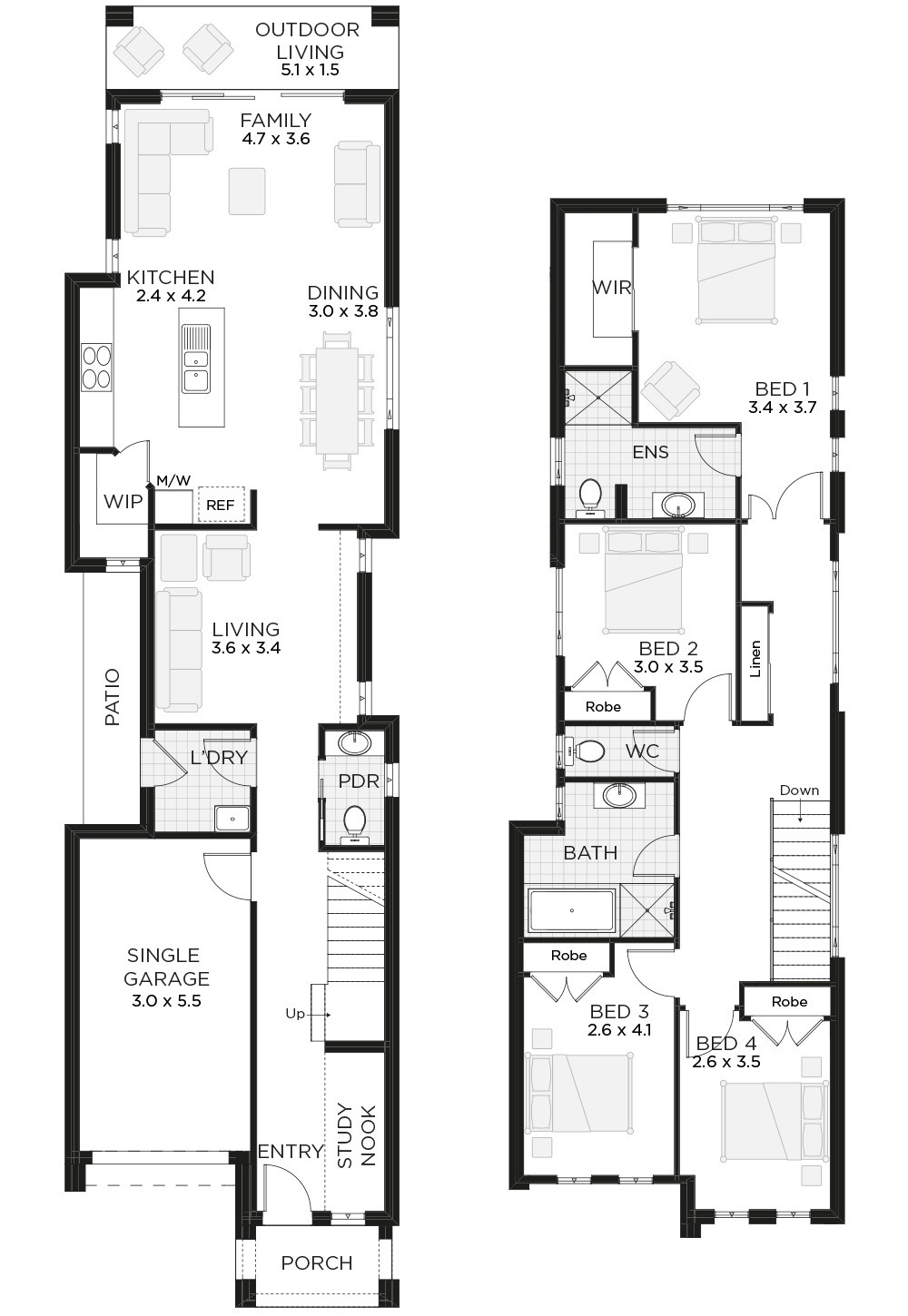 Townhouse Plans Narrow Lot Awesome Narrow Lot Home Benefits 3 Perks Of Owning Narrow Lot Homes