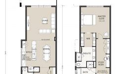 Townhouse Plans Narrow Lot Luxury Quattro Ultimate