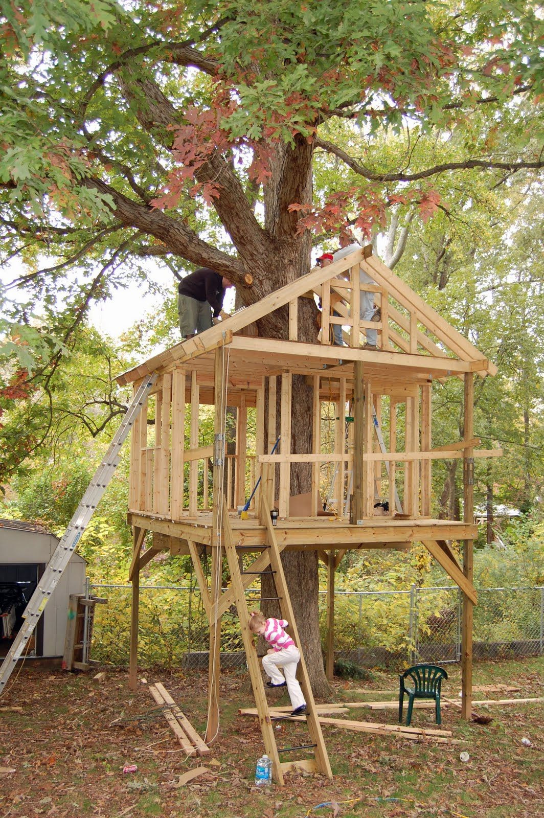 Tree House Building Plans Awesome Tree House Plans