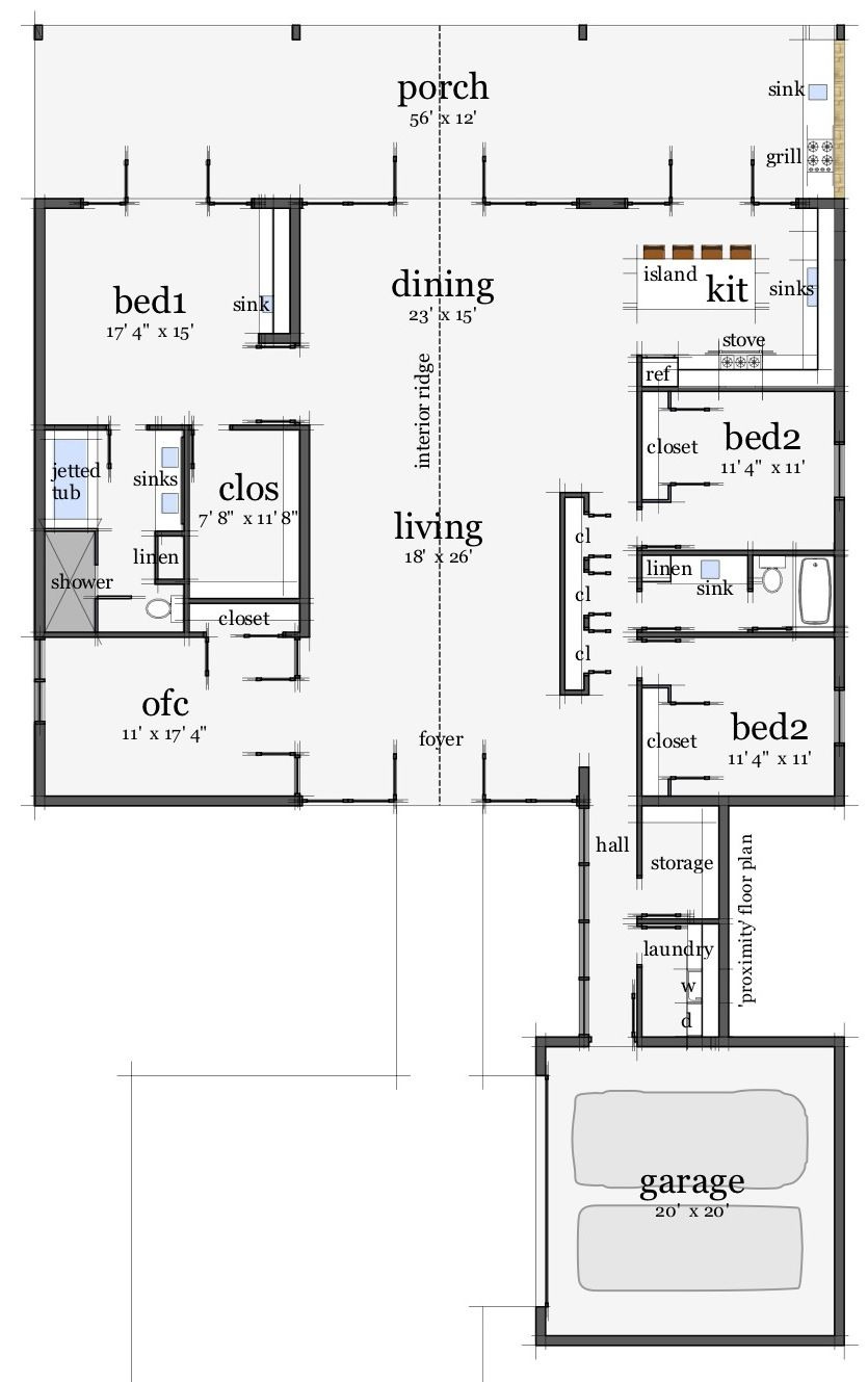 Unique Ranch House Plans Awesome Dantyree