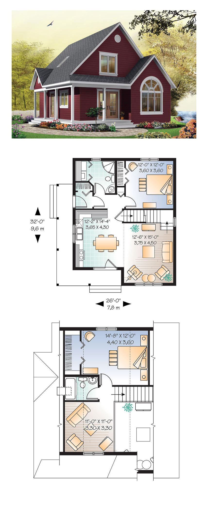 Unique Small House Plans Fresh Cottage House Plan Chp