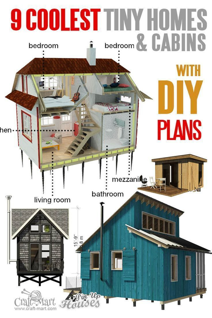 Unique Small House Plans Inspirational 9 Adorable Tiny Home Plans and Designs for Fun Weekend