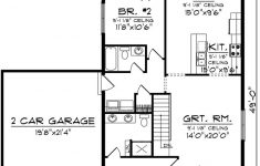 1 Bedroom House Plans With Garage Lovely Incredible 2 Bedroom House Plan With Garage 151 Best Image