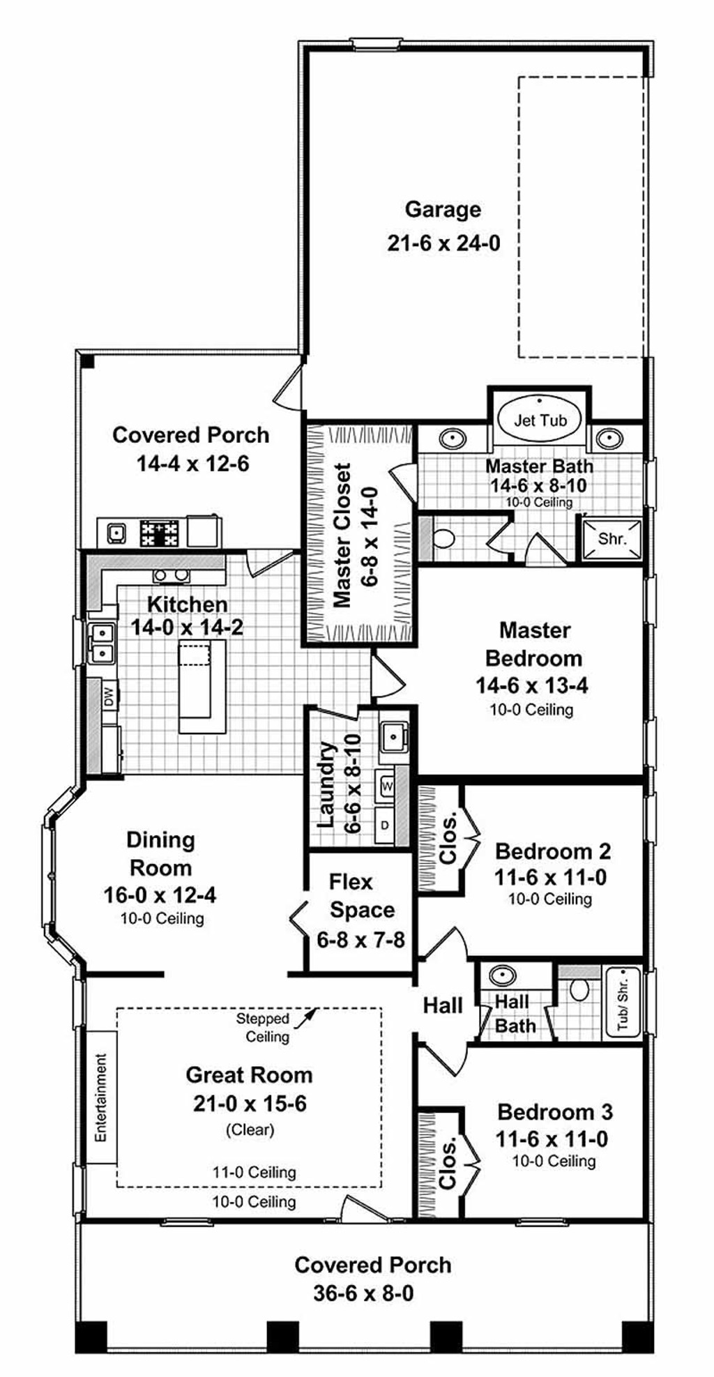 1800 square feet 3 bedrooms 2 bathroom craftsman home plans 2 garage