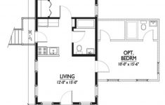12 Bedroom House Plans Luxury Cottage Style House Plan 1 Beds 1 Baths 576 Sq Ft Plan 514 6