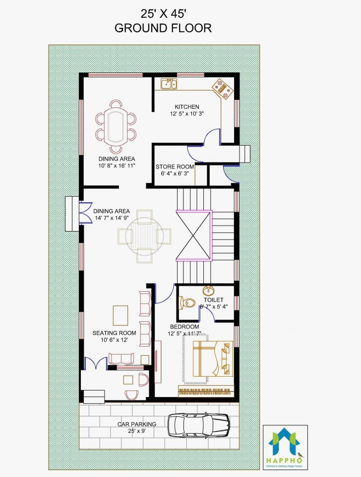 1300 Square Feet Home Plan 2020