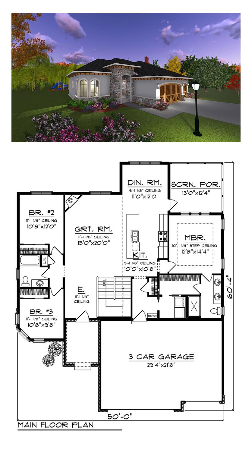 2 Bedroom Retirement House Plans New Italian Style House Plan Number with 3 Bed 2 Bath 3
