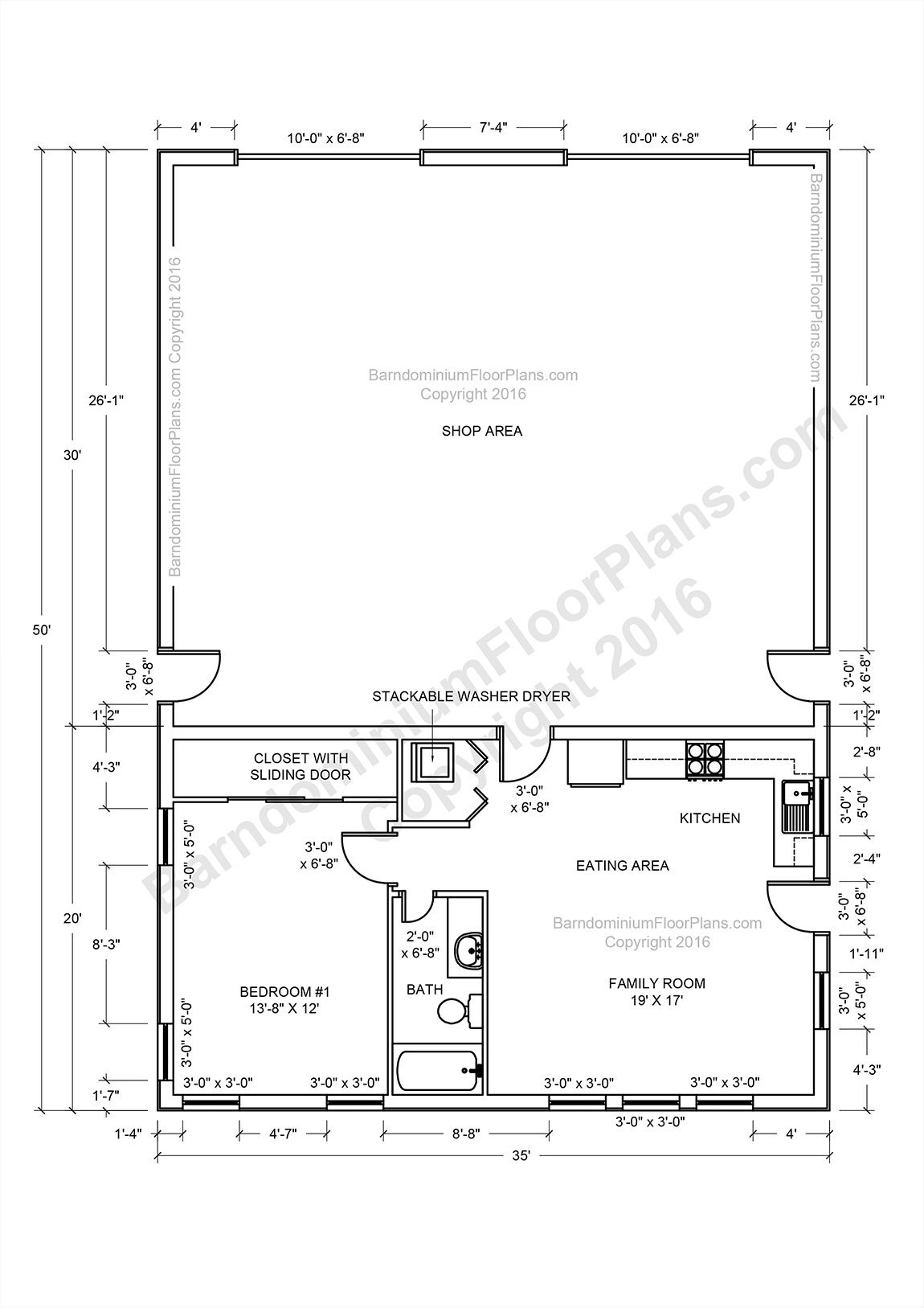 2 Story Pole Barn House Plans Awesome Beast Metal Building Barndominium Floor Plans and Design