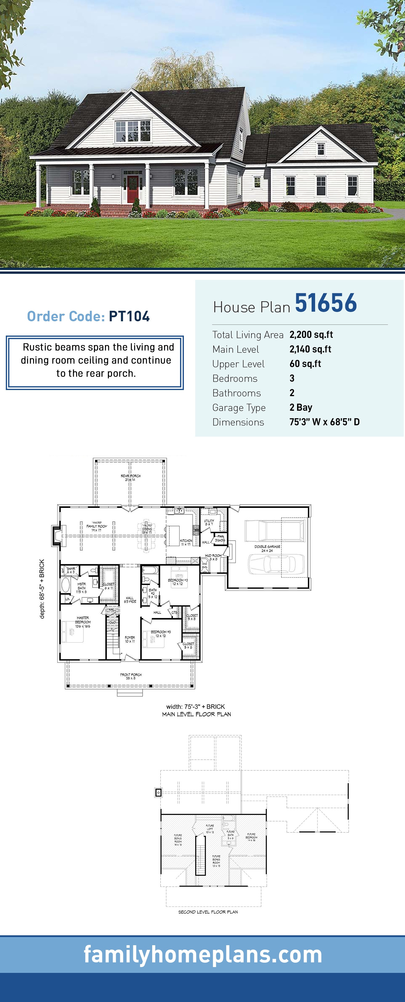 house plan OrderCode=PT104