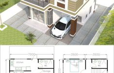 3 Bedroom Duplex House Plans Elegant House Plans 7x7m With 3 Bedrooms