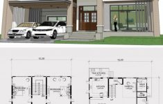 3 Bedroom Duplex House Plans New Home Design Plan 13x16m With 3 Bedrooms