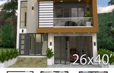 3 Bedroom Duplex House Plans Unique Home Design Plan 8x12m With 3 Bedrooms