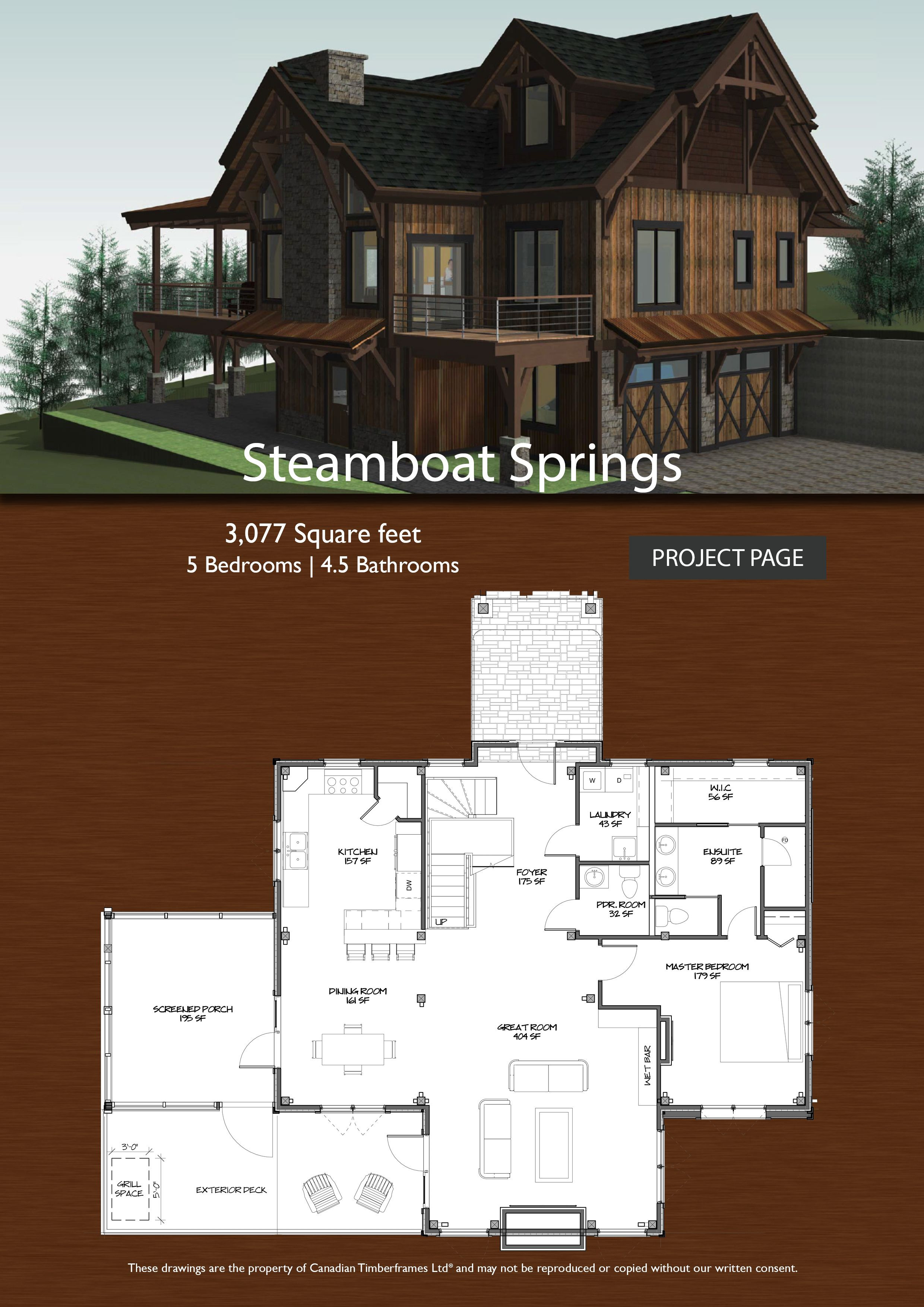 4 Bedroom Timber Frame House Plans Awesome Steamboat Springs Timber Frame Designs