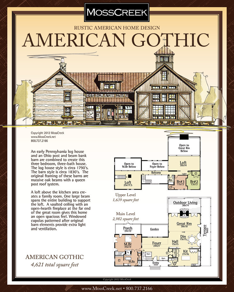 4 Bedroom Timber Frame House Plans Luxury American Gothic